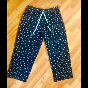 🐭🖤 Disney Mickey Mouse Pajama Bottoms 🖤🐭